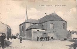 ¤¤  -   2   -  LIGNE   -  Chevet De L'Eglise    -  ¤¤ - Ligné