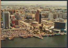 °°° 4275 - UNITED ARAB EMIRATES - THE DUBAI CREEK WITH THE ETISALAT TOWER - With Stamps °°° - Emirati Arabi Uniti