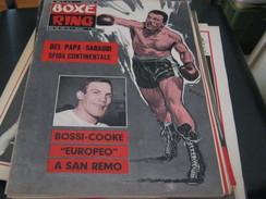 """RIVISTA"""" BOXE RING """"5 AGOSTO  1967 - Sport"""