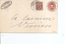 Danemark ( Lettre De 1897 De Odensee  Vers La Belgique à Voir) - 1864-04 (Christian IX)