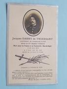 DP Jacques DABRY De THIERSANT Lieutenant Chasseurs Alpins / Mort à FONTENELLE 23 Juin 1915 à L'age De 32 Ans - FR !