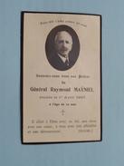 DP Général Raymond MAYNIEL Décédé Le 1 Avril 1927 à L'age De 79 Ans ( Lesort ) FR !