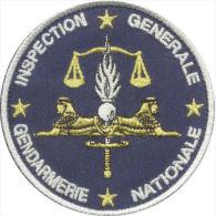 Inspection Générale De La Gendarmerie Nationale - Argenté - Police