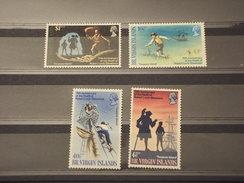 VIRGIN - 1969 SCRITTORE  4 VALORI - NUOVI(++) - British Virgin Islands