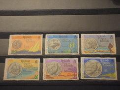 VIRGIN - 1973 MONETE  6 VALORI - NUOVI(++) - British Virgin Islands