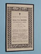 DP Madame Victor BROZIER Née Léonide-Octavie GARNIER Le 6 Déc 1908 ( Roblat ) FR !