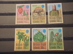 VIRGIN - 1979 CACTUS  6 VALORI - NUOVI(++) - British Virgin Islands