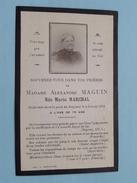 DP Madame Alexandre MAGUIN Née Maria MARCHAL Le 4 Janvier 1912 à L'age De 79 Ans ( Bienaimé ) FR !