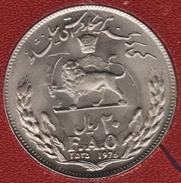 IRAN 20 RIAL 2535 (1976) FAO Mohammad Rezā Pahlavī KM# 1211 - Iran