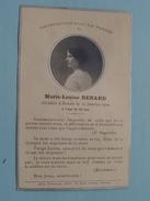DP Marie-Louise RANARD Décédée à ROUEN Le 15 Janvier 1920 à L'age De 23 Ans ( Eug. Fontaine ) FR !