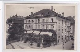 Payerne. Hôtel De L'Ours Et De La Poste, Animée - VD Vaud