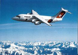TRANSPORT AVION AVIATION AVRO RJ 85 JUMBOLINO CROSSAIR SUISSE - 1946-....: Moderne