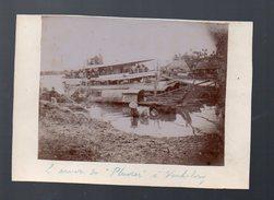 Vinh-Long (vietnam)  L'arrivée Du Pluvier (photo Originale Vers 1902) (PPP4894) - Places