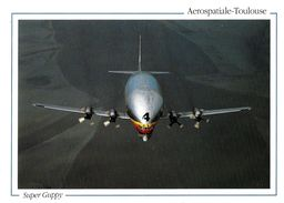 TRANSPORT AVION AVIATION L 924 AEROSPASTIALE TOULOUSE SUPER GUPY AVION CARGO  EDIT. LOUBATIERES - 1946-....: Moderne
