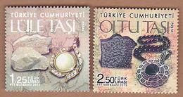 AC - TURKEY STAMP - VALUABLE STONES MEERSCHAUM - OLTU STONE MNH 29 APRIL 2015 - 1921-... Republic
