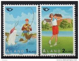 Aland - 1995 - Yvert N° 102 & 103 **  - Norden - Aland
