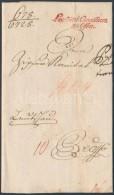 1789 Ex offo piros / red 'Locumutti Consilium zu Ofen' - Leutschau