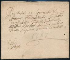 1767 Levél Dögére / Cover to Döge