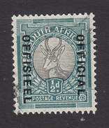 South Africa, Scott #O22a, Used, Springbok Overprinted, Issued 1935 - South Africa (...-1961)