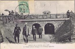 72 - Circuit De La Sarthe , Juin 1906 - Le Tunnel Entre Le Garage Et Les Tribunes Officielles - Le Mans