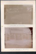 Vinhlong (vietnam)  : (2 Photos Orginales Vers 1902) Marché + Pagode Chinoise  (PPP4897) - Places