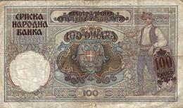 BILLET Serbie  1941 - Serbie