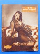 Erotismo Spettacolo  Pin-Up - Rivista Magazine Paris Hollywood N° 18 - 1947 - Marguerite Chapman In Copertina - Altri