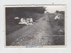 PHOTO 9X6 / BALADE SUR LES CHEMINS à GIMOUILLE Dans La NIEVRE En 1936 - Lieux