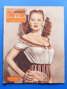 Erotismo Spettacolo  Pin-Up - Rivista Magazine Paris Hollywood N° 35 - 1948 - Yvonne De Carlo In Copertina - Libri, Riviste, Fumetti