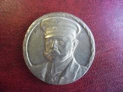 Silbermedaille O.J. (Fr. EUE) General Feldmarschall Von HINDENBURG, I.Rd: SILBER 800 Zetzm - 18 Gr. 34 Mm - Allemagne