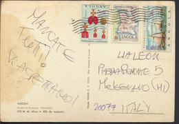 °°° 4282 - ANGOLA - MALANGE - QUEDAS DO KALANDULA - With Stamps °°° - Angola