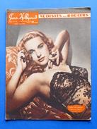 Erotismo Spettacolo  Pin-Up - Rivista Magazine Paris Hollywood N° - 1948 - Carlol Van Derman In Copertina - Altri