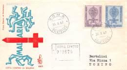 FDC Venetia - Italia Repubblica 1962 - Lotta Contro La Malaria - Racc. VG - Stamps