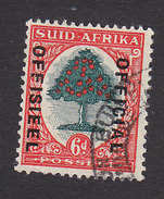 South Africa, Scott #O32b, Used, Orange Tree Overprinted, Issued 1935 - South Africa (...-1961)