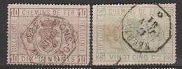 Belgique TR1 Et 3 - Afgestempeld