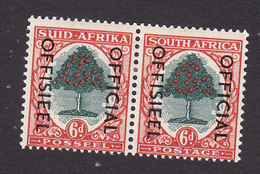 South Africa, Scott #O48, Mint Hinged, Orange Tree Overprinted, Issued 1950 - South Africa (...-1961)