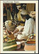 °°° 4286 - BURKINA FASO - OUAGADOUGOU - ARTISAN - With Stamps °°° - Burkina Faso