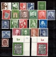 Allemagne/RFA Belle Collection Neufs ** MNH 1950/1953. Bonnes Valeurs. TB. A Saisir!