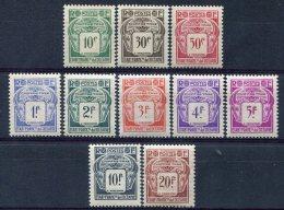 Ets De L'Océanie               Taxes    18/27  ** - Oceania (1892-1958)