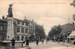 """V8151 Cpa 31 Toulouse - La Rue De La Concorde Et La Fontaine """" La Poésie Romane"""" - Toulouse"""