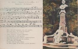 LILLE MONUMENT DE DEROUSSEAUX CHANSON DU PETIT QUINQUIN - Lille