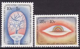 BELGIUM 1981  Mi 2051-2052  MNH**