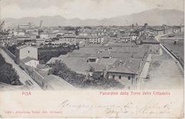 (057) CARTOLINA - PISA - PANORAMA DALLA TORRE DELLA CITTADELLA- VIAGGIATA NEL 1902 - Pisa