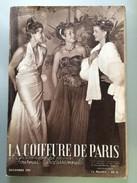La Coiffure De Paris Journal Professionnel  Photos Et Publicites D'epoque Decembre 1951 - Sonstige