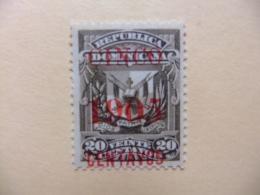 REPUBLICA DOMINICANA DOMINICAINE 1905 ESCUDO Yvert 131 (*) - Dominican Republic