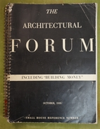 """The Architectural Forum - Including """"Bulding Money"""", October 1935 - Small  House Reference Number - Books, Magazines, Comics"""