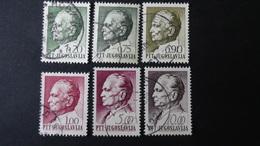 Yugoslavia - 1967/68 - Mi:1235,1241-2,1246-7,1285 O - Look Scan - 1945-1992 República Federal Socialista De Yugoslavia