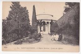 CPA SAINT-MANDRIER L'Hôpital Maritime Jardins Des Officiers (83) - Saint-Mandrier-sur-Mer