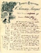 25.DOUBS.VILLERS LE LAC.FABRIQUE D'HORLOGERIE.H.PARRENIN & MARGUET. - Zonder Classificatie