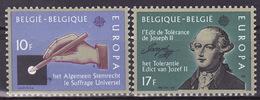BELGIUM 1982  Mi 2100-2101  EUROPA CEPT   MNH**